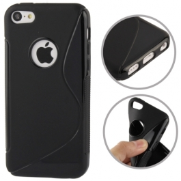 coque iPhone 5C S-Line - Noir
