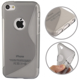 coque iPhone 5C S-Line - gris