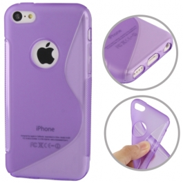 coque iPhone 5C S-Line - violet