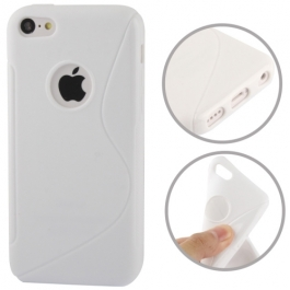 coque iPhone 5C S-Line - blanc