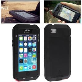 Coque iPhone waterproof anti-choc 5C - Noir