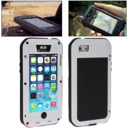 coque iPhone waterproof anti-choc 5C - blanc