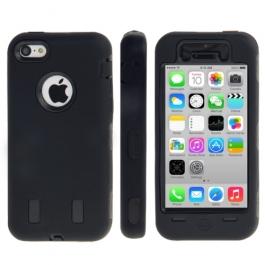 coque iPhone 5C anti dérapante - noir