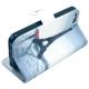 """housse iPhone 5C rabat porte-cartes intégré motif """"paris"""" - gris"""