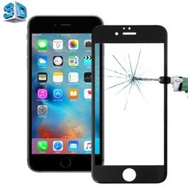 vitre verre trempé iPhone 6 / 6S - Noir