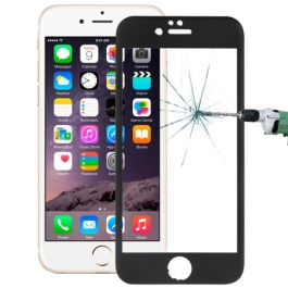 protection iPhone 6 / 6S face avant titane - noir