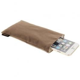 étui iPhone 6 plus / 6S plus HAWEEL - taupe