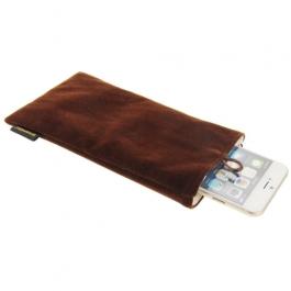 étui iPhone 6 plus / 6S plus HAWEEL - chocolat