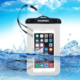 housse waterproof iPhone 5 / 5S / SE HAWEEL transparente
