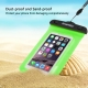 housse waterproof iPhone 5C HAWEEL transparente - vert