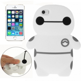 coque iPhone 5 / 5S / SE silicone 3D robot