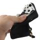 coque iPhone 5 / 5S / SE silicone CLICHE sac a main – noir