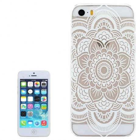 coque iphone 5 mandala noir