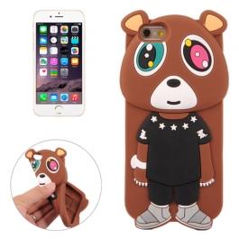 coque iPhone 6 plus / 6S plus silicone 3D peluche ourson