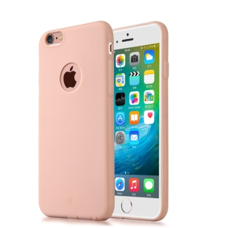 coque iphone 6 plus 6s plus tpu baseus rose