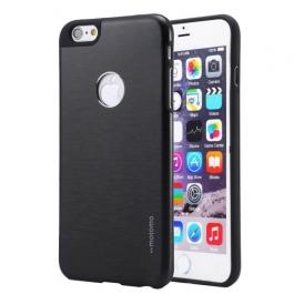 Coque iPhone 6 / 6S MOTOMO logo Apple - Noir