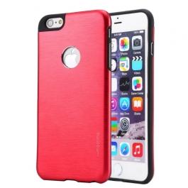 Coque iPhone 6 / 6S MOTOMO logo Apple - Rouge