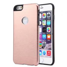 Coque iPhone 6 / 6S MOTOMO logo Apple - Rose