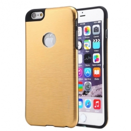 Coque iPhone 6 / 6S MOTOMO logo Apple - Or