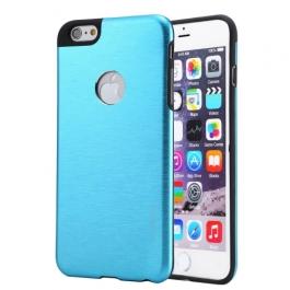 Coque iPhone 6 / 6S MOTOMO logo Apple - Turquoise
