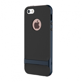 Coque iPhone 6 / 6S ROCK anti-dérapante - Bleu