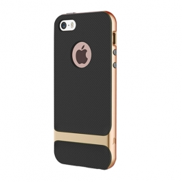 Coque iPhone 6 / 6S ROCK anti-dérapante - Or