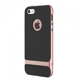 Coque iPhone 6 / 6S ROCK anti-dérapante - Rose