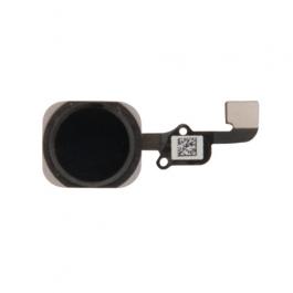 Bouton Home de remplacement capteur d'empreinte iPhone 6S / 6S Plus - Noir