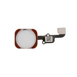 Bouton Home de remplacement capteur d'empreinte iPhone 6S / 6S Plus - Argent