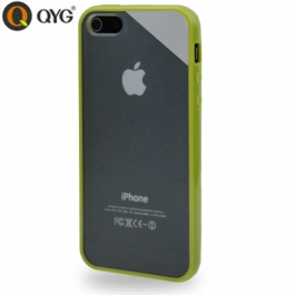 Coque iPhone 5 / 5S / SE Q-case transparente - Vert