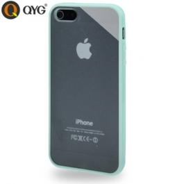 Coque iPhone 5 / 5S / SE Q-case transparente - bleu pale