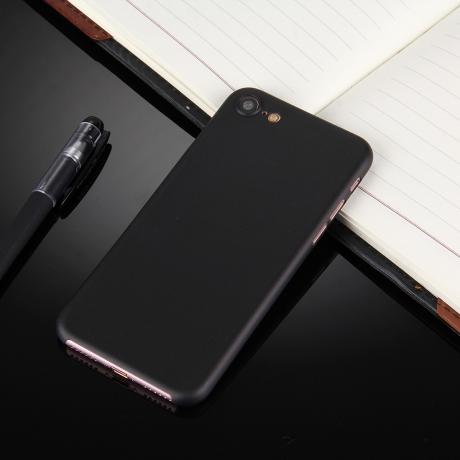 Coque ultra slim pour iPhone 7 noir - Mobile-Store