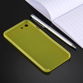 Coque ultra slim pour iPhone 7 jaune