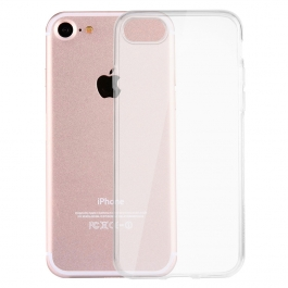 Coque de protection silicone transparente pour iPhone 7