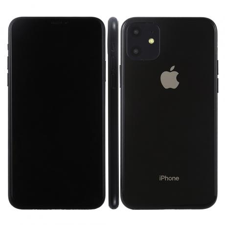 Modèle de présentation iPhone 11 Factice - Jaune