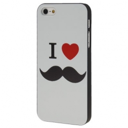 Coque Love Moustache iPhone 5