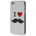 Coque Love Moustache iPhone 5