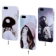 Coque Fille en cartoon iPhone 5