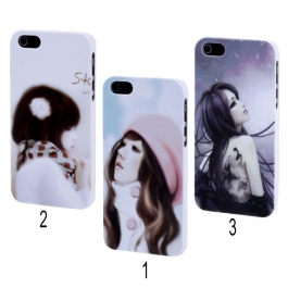 Coque Girl style encre de Chine iPhone 5