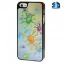Coque couleurs splash 3D iPhone 5