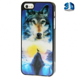 Coque Loup 3D iPhone 5