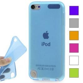 Coque transparente couleur en silicone souple iPod Touch 5g