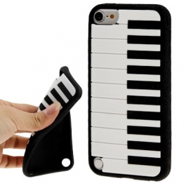 Coque Piano en silicone souple iPod Touch 5g