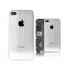 Façade arrière en aluminium brossé pour iPhone 4S