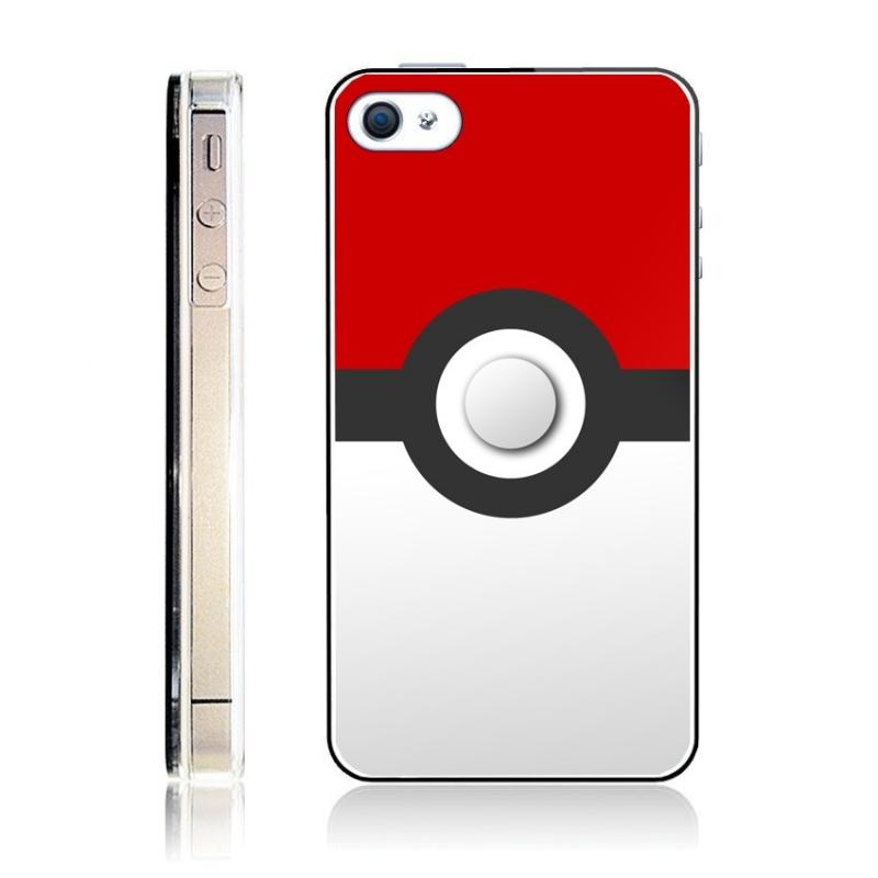 coque pokemon pokeball plastique iphone 4 4s