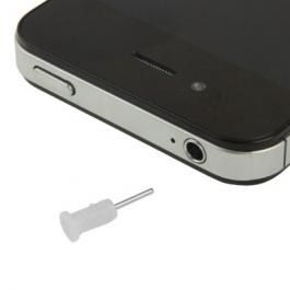Cache prise jack anti-poussière iPhone 5 Blanc