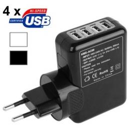 Adaptateur secteur USB x 4 ports