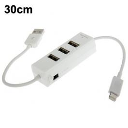 Hub Lightning (x3 port USB) iPhone 5