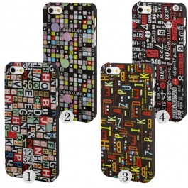 Coque Alphanumérique iPhone 5