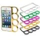 Coque Bumper Poing Américain pour iPhone 5 (couleur au choix)